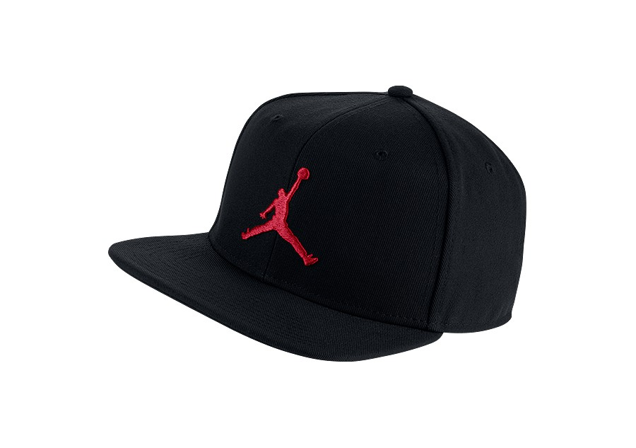 fcd6bc71a4d NIKE AIR JORDAN PRO JUMPMAN SNAPBACK BLACK GYM RED price €29.00 ...