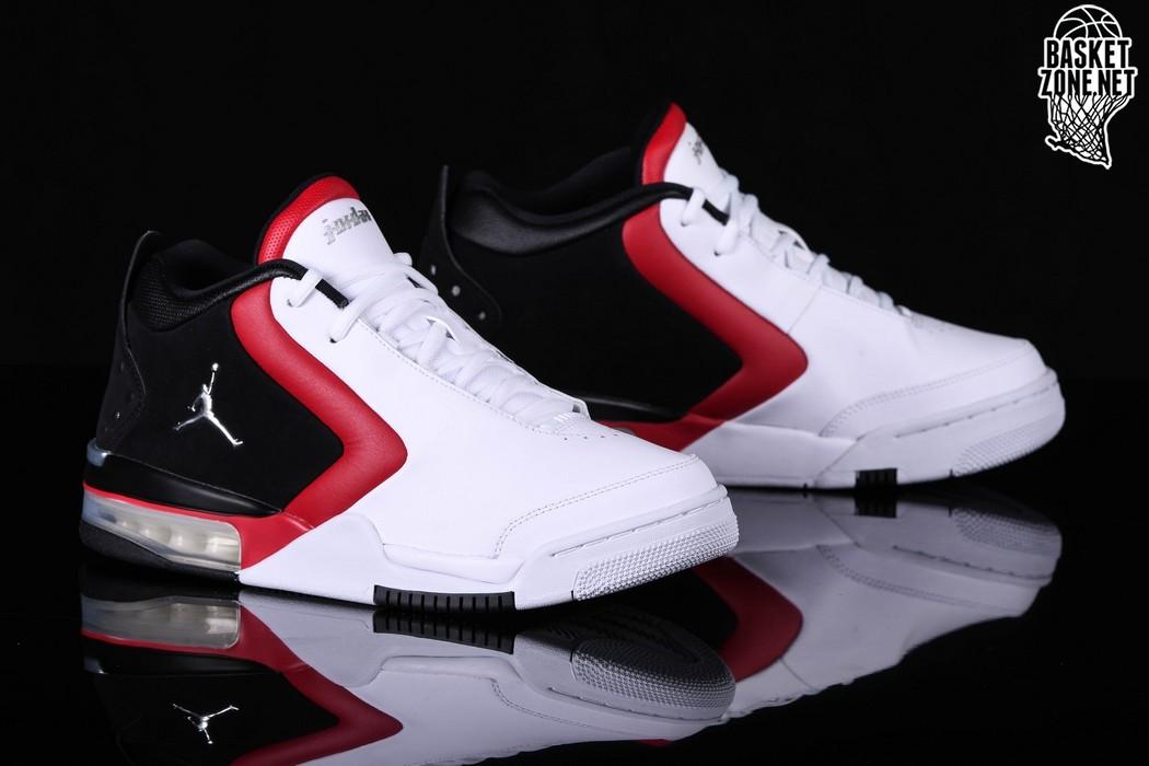 NIKE AIR JORDAN BIG FUND BLACK RED WHITE GS