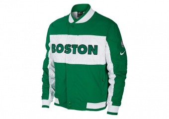 NIKE NBA BOSTON CELTICS COURTSIDE ICON JACKET CLOVER