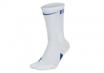 NIKE GIANNIS ELITE CREW SOCKS WHITE