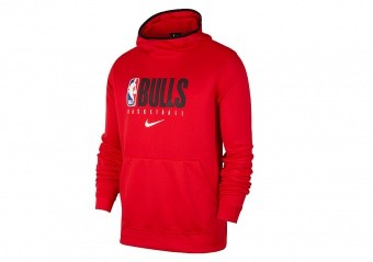 NIKE NBA CHICAGO BULLS SPOTLIGHT HOODIE CARBON HEATHER price