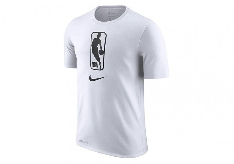 NIKE NBA TEAM 31 DRY TEE WHITE BLACK