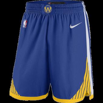 NIKE NBA GOLDEN STATE WARRIORS SWINGMAN ROAD SHORTS