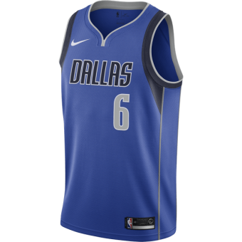 NIKE NBA DALLAS MAVERICKS KRISTAPS PORZINGIS SWINGMAN ROAD JERSEY