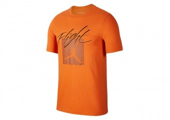 NIKE AIR JORDAN JUMPMAN FLIGHT CREW TEE STARFISH