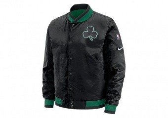 NIKE NBA BOSTON CELTICS COURTSIDE JACKET BLACK