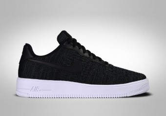 NIKE AIR FORCE 1 LOW FLYKNIT 2.0 BLACK