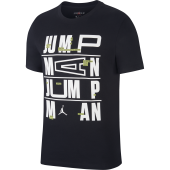 NIKE AIR JORDAN JUMPMAN DRI-FIT TEE BLACK
