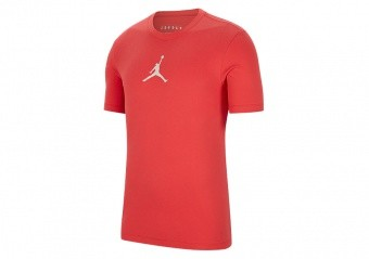 NIKE AIR JORDAN JUMPMAN DRI-FIT TEE TRACK RED