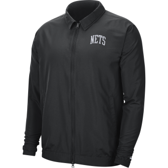 NIKE NBA BROOKLYN NETS ESSENTIAL LIGHTWEIGHT JACKET