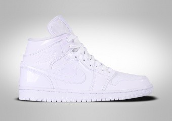 NIKE AIR JORDAN 1 RETRO MID WMNS TRIPLE WHITE