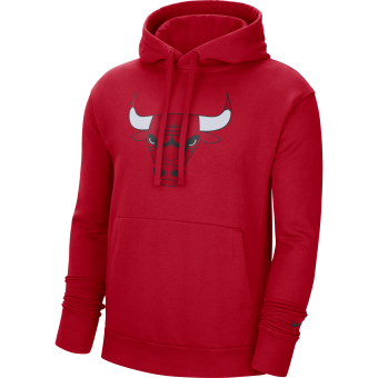 NIKE NBA CHICAGO BULLS ESSENTIAL FLEECE PULLOVER HOODIE