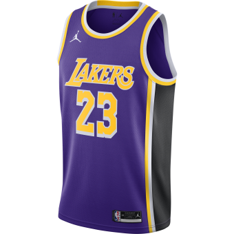 NIKE NBA LOS ANGELES LAKERS STATEMENT EDITION SWINGMAN JERSEY