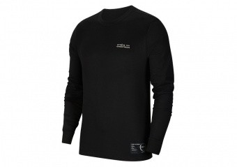 NIKE LEBRON JAMES DRI-FIT LONG-SLEEVE TEE BLACK