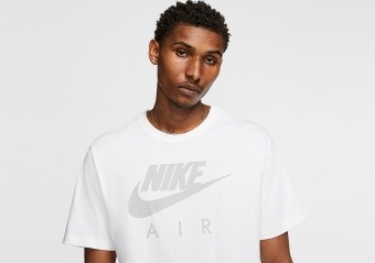 NIKE AIR FRANCHISE TEE WHITE