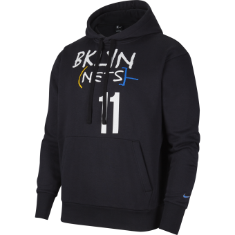 NIKE NBA BROOKLYN NETS CITY EDITION PULLOVER HOODIE