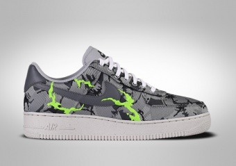 NIKE AIR FORCE 1 LOW '07 LX SMOKE GREY CAMO