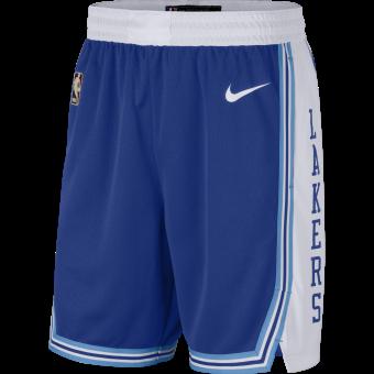 NIKE NBA LOS ANGELES LAKERS CLASSIC EDITION SWINGMAN SHORTS