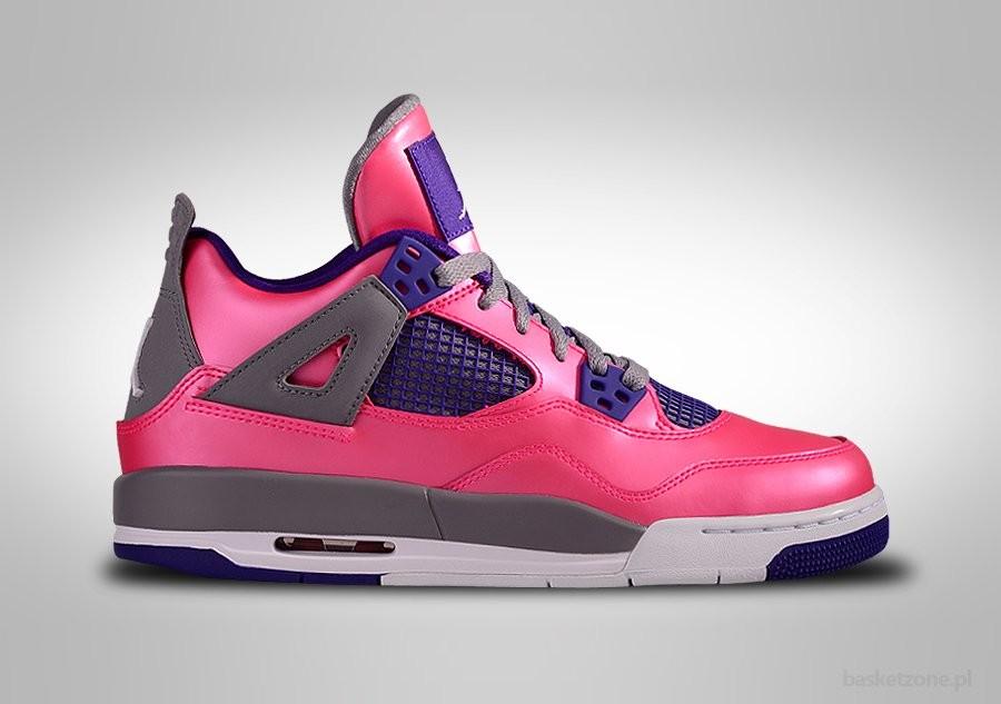 finest selection fffcc e6fc7 ... promo code nike air jordan 4 retro pink foil purple gs grade school  smaller sizes 91407