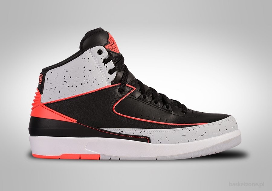 NIKE AIR JORDAN 2 RETRO BLACK INFRARED