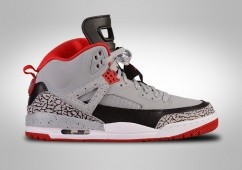 NIKE AIR JORDAN SPIZIKE WOLF GREY GYM RED CEMENT