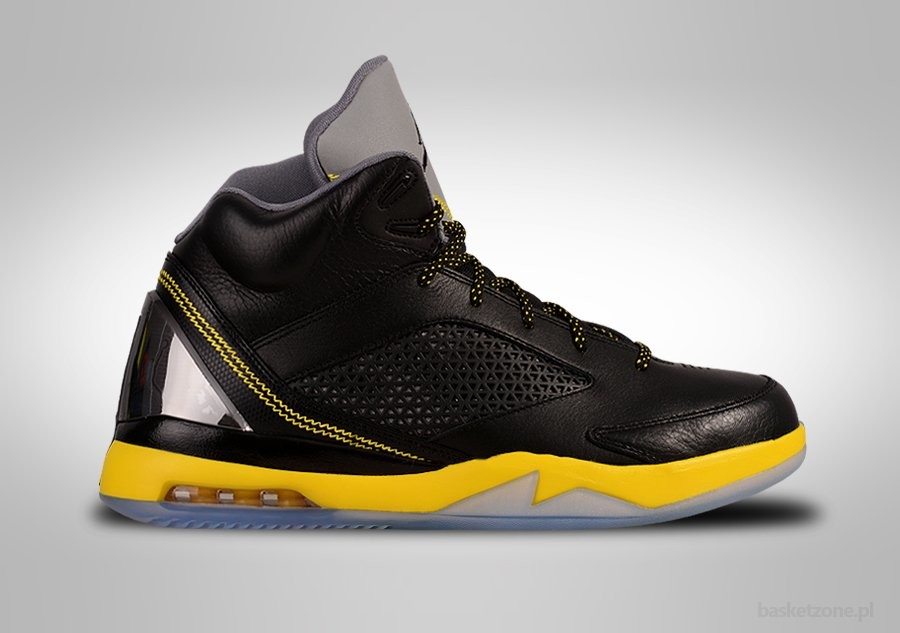 NIKE AIR JORDAN FUTURE FLIGHT 5-15-22 REMIX BLACK VIBRANT YELLOW