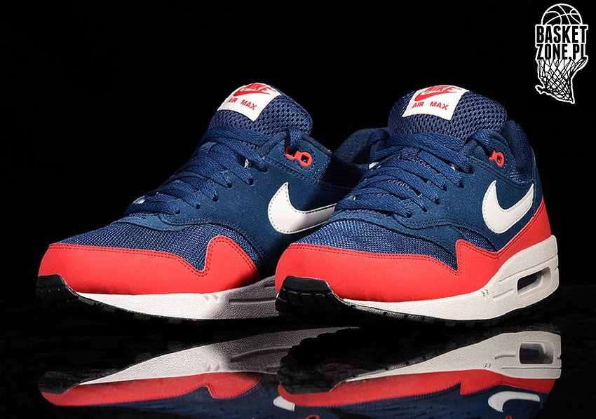 4ce261b7274 ... best nike air max 1 essential midnight navy university red 8cc22 e0c15